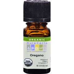 HGR0324996 - Aura Cacia - Organic Oregano - .25 oz