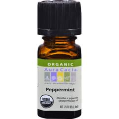 HGR0325258 - Aura CaciaOrganic Peppermint - .25 oz