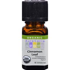 HGR0325514 - Aura CaciaOrganic Cinnamon Leaf - .25 oz