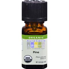 HGR0325530 - Aura Cacia - Organic Pine - .25 oz