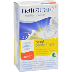 HGR0325597 - NatracareNatural Curved Panty Liners - 30 Pack