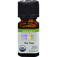 HGR0325977 - Aura CaciaOrganic Essential Oil - Tea Tree - .25 oz