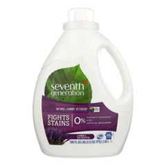 HGR0326611 - Seventh Generation - Natural Laundry Detergent - Blue Eucalyptus and Lavender - Case of 4 - 100 Fl oz..