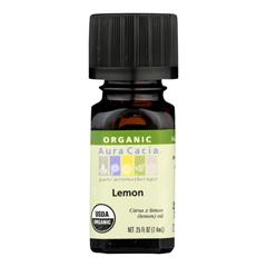 HGR0326876 - Aura CaciaOrganic Essential Oil - Lemon - .25 oz