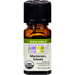 HGR0326991 - Aura CaciaOrganic Essential Oil - Marjoram Sweet - .25 oz