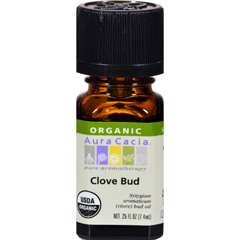 HGR0327098 - Aura CaciaOrganic Essential Oil - Clove Bud - .25 oz