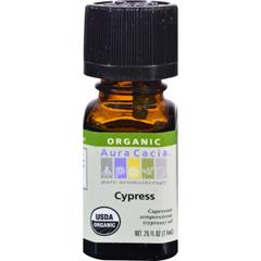 HGR0327130 - Aura CaciaOrganic Essential Oil - Cypress - .25 oz