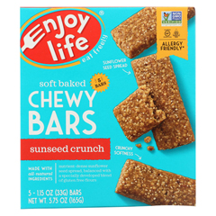 HGR0333120 - Enjoy LifeSnack Bar - SunSeed Crunch - Gluten Free - 5 oz. - case of 6