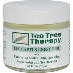 HGR0333724 - Tea Tree TherapyEucalyptus Chest Rub Eucalyptus Australiana Lavender Peppermint and Tea Tree Oil - 2 oz