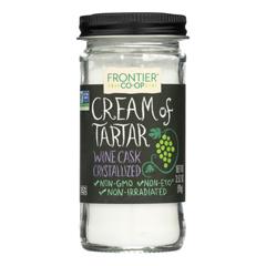 HGR0335240 - Frontier Herb - Cream of Tartar - 3.52 oz.