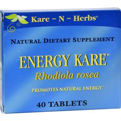 HGR0335513 - Kare-N-Herbs - Energy Kare - 40 Tablets