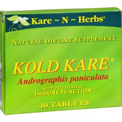 HGR0335547 - Kare-N-HerbsKold Kare - 40 Tablets
