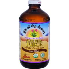 HGR0335935 - Lily of The DesertLily of the Desert Organic Aloe Vera Juice Inner Fillet - 32 fl oz