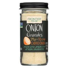 HGR0336081 - Frontier Herb - Onion - Granules - White - 2.29 oz.
