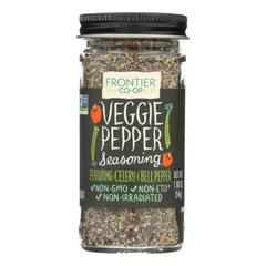HGR0336842 - Frontier Herb - Veggie Pepper Seasoning Blend - 1.90 oz.