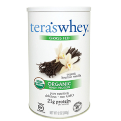 HGR0337345 - Tera's WheyProtein Powder - Whey - Organic - Bourbon Vanilla - 12 oz