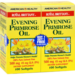 HGR0340067 - American Health - Royal Brittany Evening Primrose Oil 100+100 Softgels