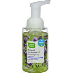 HGR0341669 - CleanWell - All-Natural Antibacterial Foaming Hand Wash Lavender Absolute - 9.5 fl oz