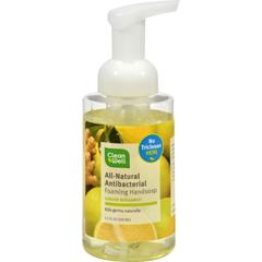 HGR0341792 - CleanWellAll-Natural Antibacterial Foaming Hand Wash Bergamot Ginger - 9.5 fl oz