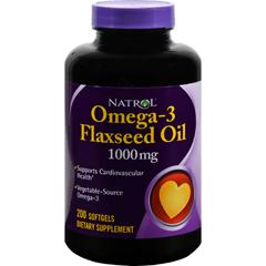 HGR0343715 - NatrolFlax Seed Oil - 200 softgels