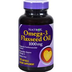 HGR0343772 - NatrolFlax Seed Oil - 1000 mg - 120 Softgels