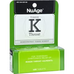 HGR0346429 - Hyland'sTissue K Throat - 125 Tablets