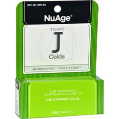 HGR0346445 - Hyland'sTissue J Colds - 125 Tablets