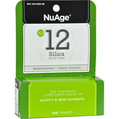 HGR0346544 - Hyland'sNuAge No. 12 Silica - 125 Tablets