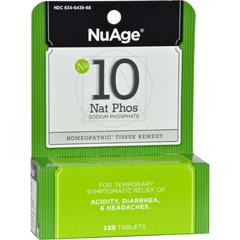 HGR0346585 - Hyland'sNuAge No.10 Natrum Phos - 125 Tablets