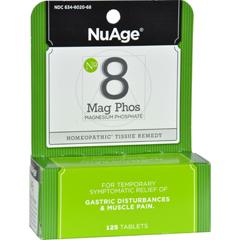 HGR0346643 - Hyland'sNuAge Labs #8 Magnesium Phosphate - 125 Tablets