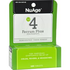 HGR0346742 - Hyland'sNuAge No.4 Ferrum Phos - 125 Tablets