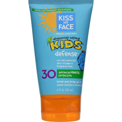 HGR0347799 - Kiss My FaceKids Sunblock Natural Mineral Lotion SPF 30 - 4 fl oz