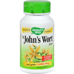 HGR0350686 - Nature's WaySt Johns Wort Herb - 100 Capsules