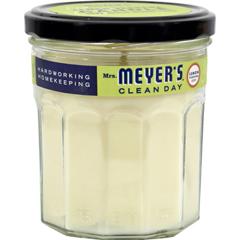 HGR0353607 - Mrs. Meyer's - Soy Candle - Lemon Verbena - Case of 6 - 7.2 oz Candles