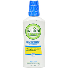 HGR0354282 - Natural DentistHealthy Teeth and Gums Anticavity Fluoride Rinse - Fresh Mint - 16.9 oz