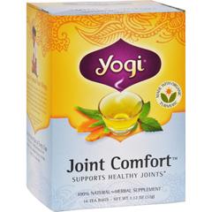 HGR0355396 - Yogi TeasJoint Comfort Herbal Tea - 16 Tea Bags - Case of 6