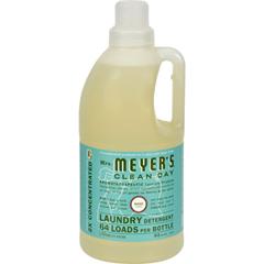 HGR0355529 - Mrs. Meyer's2X Laundry Detergent - Basil - Case of 6 - 64 oz