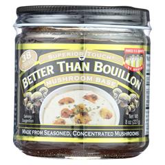 HGR0356147 - Better Than Bouillon - Seasoning - Mushroom Base - Case of 6 - 8 oz..