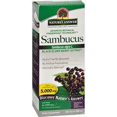 HGR0359604 - Nature's AnswerSambucus nigra Black Elder Berry Extract - 8 fl oz