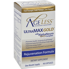 HGR0365817 - Ageless FoundationUltraMAX Gold With AlphaNeuro Complex - 90 Capsules