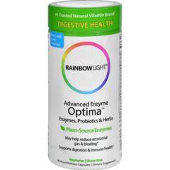HGR0367953 - Rainbow LightAdvanced Enzyme Optima - 90 Vegetarian Capsules