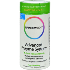 HGR0370320 - Rainbow LightAdvanced Enzyme System - 90 Vegetarian Capsules
