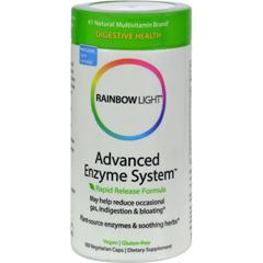 HGR0370346 - Rainbow LightAdvanced Enzyme System - 180 Vegetarian Capsules