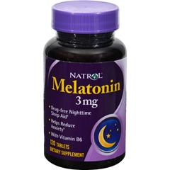HGR0373746 - NatrolMelatonin - 3 mg - 120 Tablets