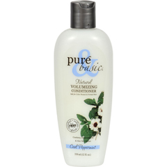 HGR0373779 - Pure and BasicNatural Volumizing Conditioner Cool Peppermint - 12 fl oz