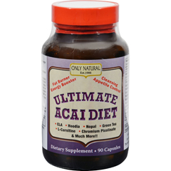 HGR0374389 - Only NaturalUltimate Acai Diet - 90 Capsules