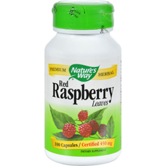 HGR0379305 - Nature's WayRed Raspberry Leaves - 100 Capsules