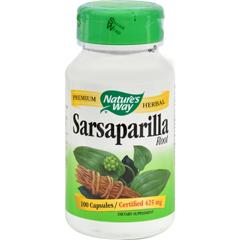 HGR0379503 - Nature's WaySarsaparilla Root - 100 Capsules