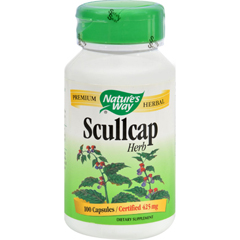 HGR0379602 - Nature's WayScullcap Herb - 100 Capsules