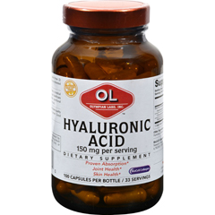 HGR0381582 - Olympian LabsHyaluronic Acid with BioCell Collagen Type II - 100 Capsules